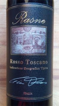 Rasne Rosso Toscane, 2016, IGT, Italië
