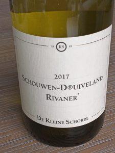 Schouwen-D®uivenland Rivaner+ 2017, BGA Zeeland, Nederland