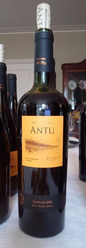 Wijn van wijnhuis Montgras carmenere