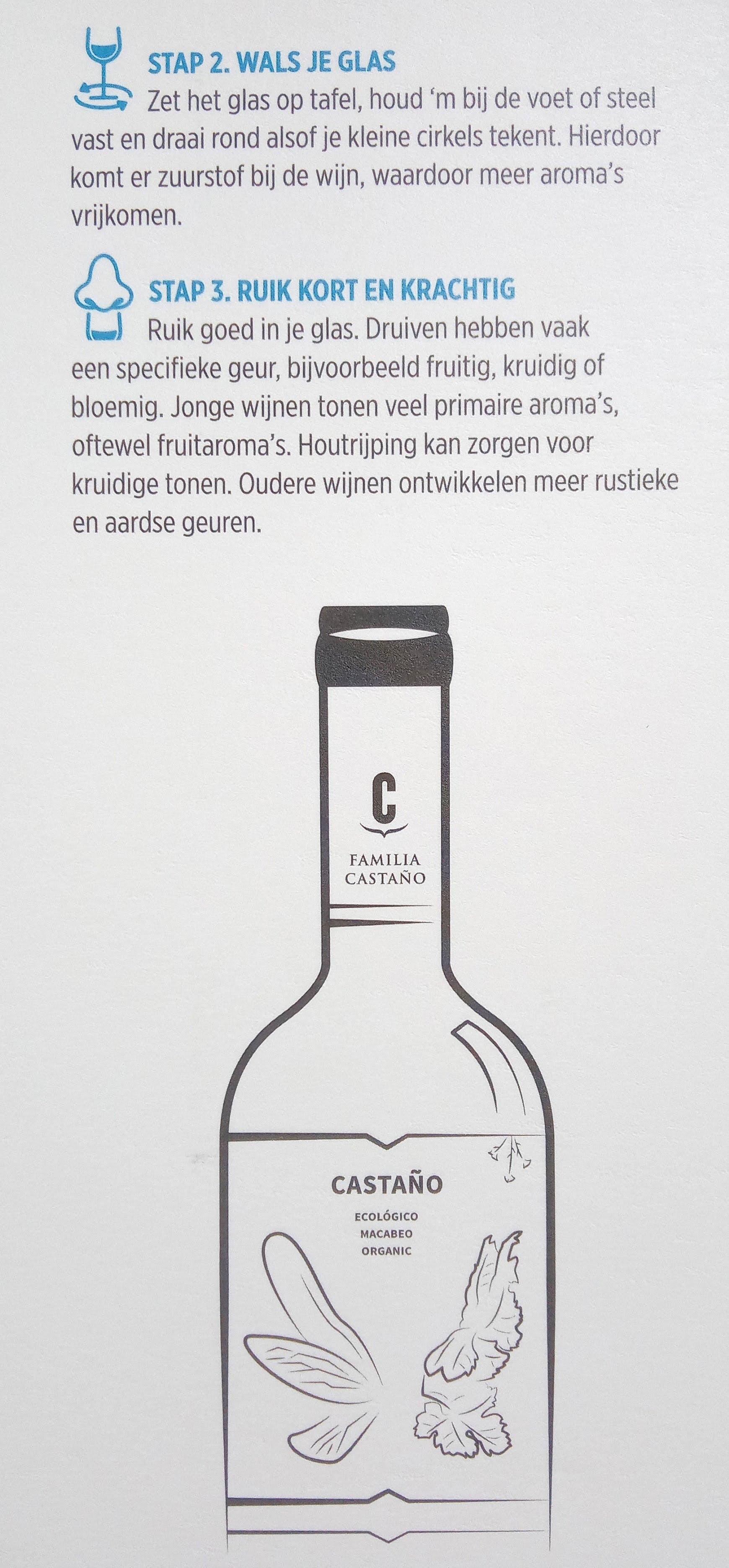 wijn drinken volgens albert heijn kijken en ruiken van wijn