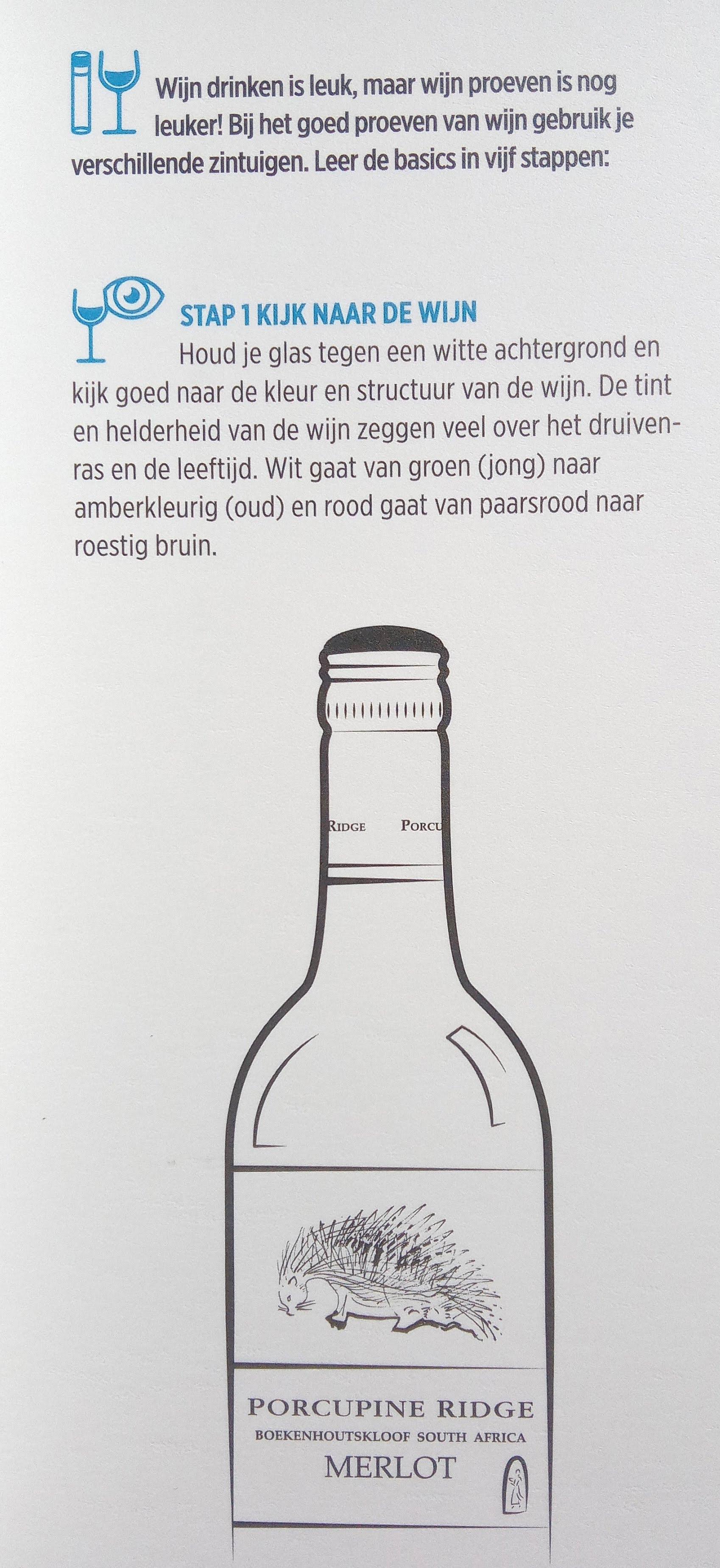 wijn drinken volgens albert heijn