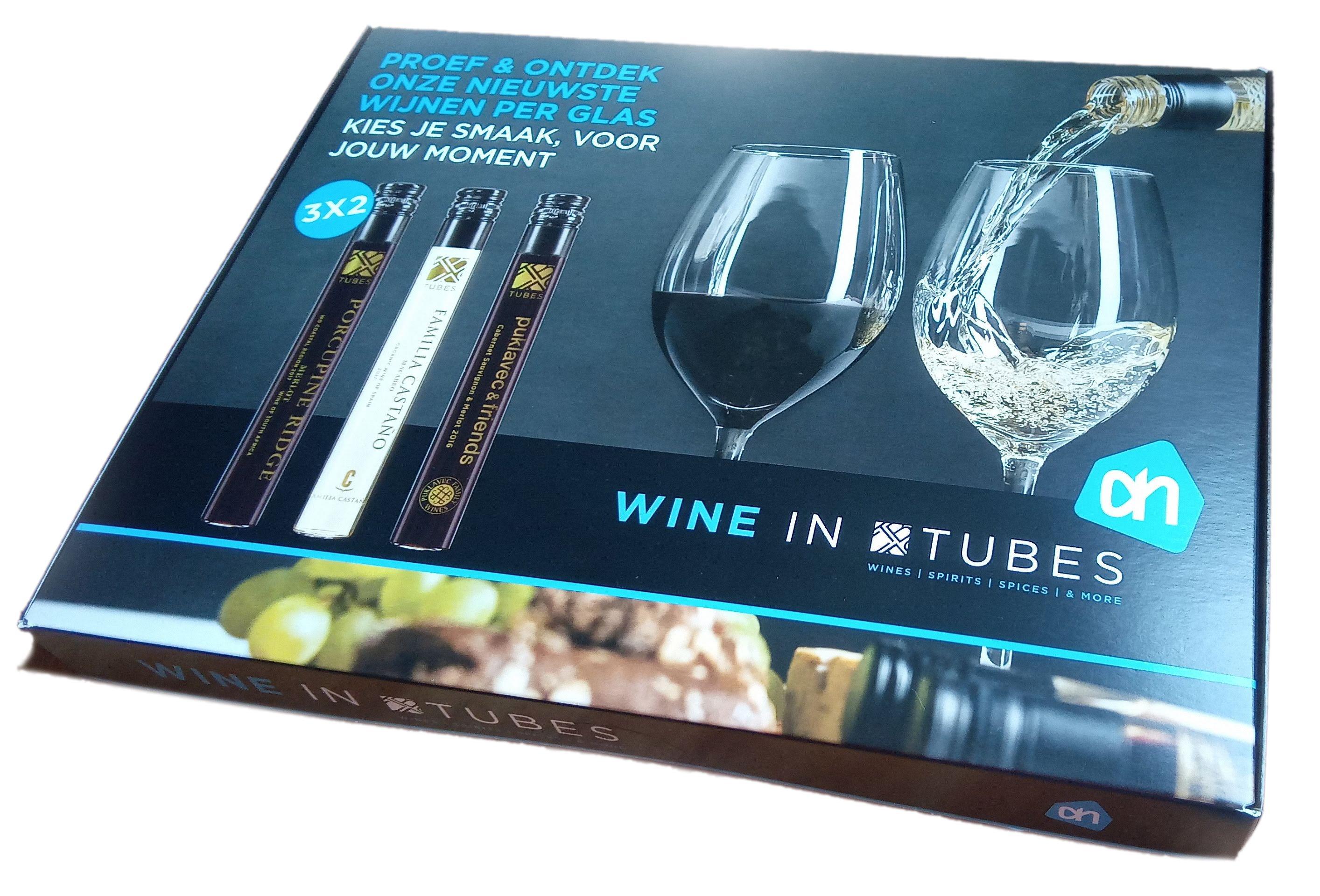 wine in tubes ah