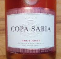 Copa Sabia Brut Rosé, Cava, Spanje