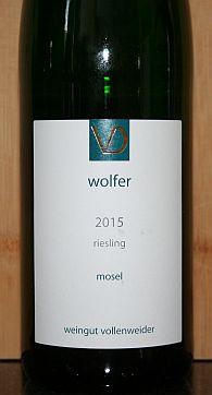 Weingut Vollenweider Riesling