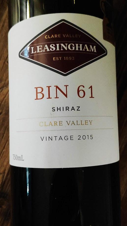 Leasingham Bin 61 Shiraz, Clare Valley, Australië
