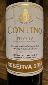 Rioja Reserva Contino 2014, Rioja, Spanje