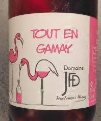 Beaujolais Rosé Tout en Gamay, Domaine JFD, Frankrijk
