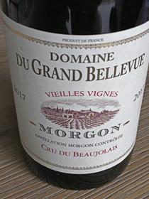 Domaine du Grand Bellevue 2017, AC Morgon, Frankrijk