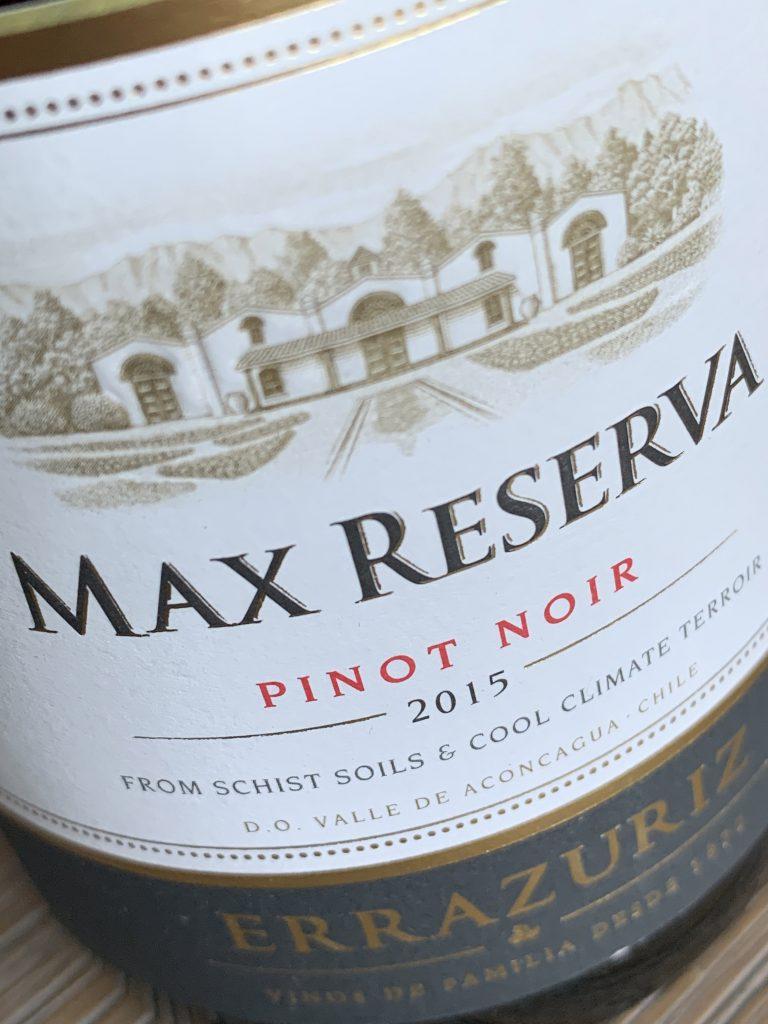 Errazuriz Max Reserva Pinot Noir 2015, een test van deze rode wijn