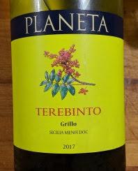 Gall en Gall Grillo - Planeta Terebinto Grillo 2017, Sicilië, Italië