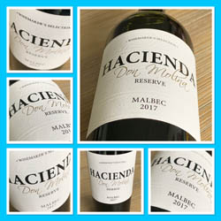 Hacienda Malbec Reserve 2017, Central Valley, Chili