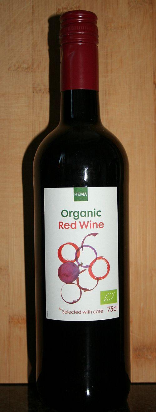 Hema Organic Red Wine, huiswijn van de Hema uit Spanje