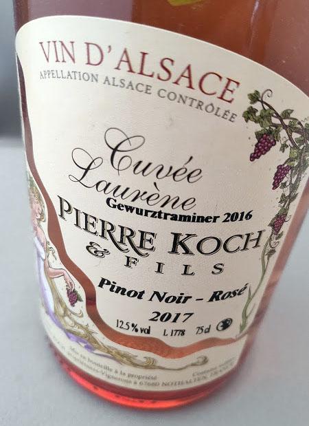 Pinot Noir Rosé wijn
