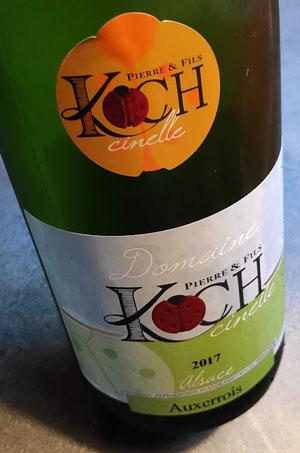 witte droge Elzas wijn