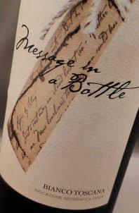 witte wijn van Sting uit Toscane in Italië