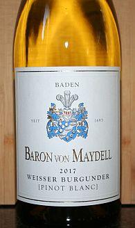 Baron von Maydell Weisser Burgunder