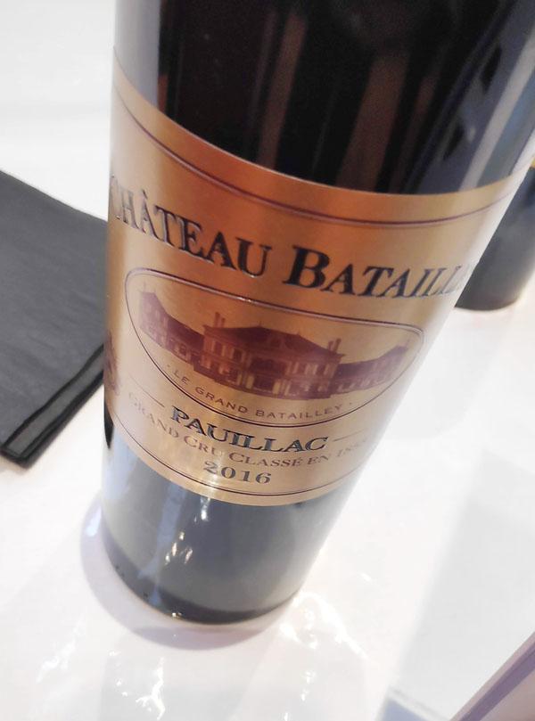 Chateau Batailley uit Pauillac heeft een fantastisch mooie wijn gemaakt