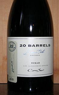 Cono Sur 20 Barrels Syrah