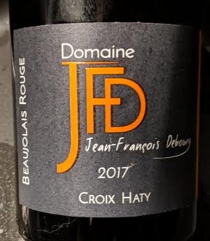 Croix Haty, biologische Gamay, Beaujolais van Domaine JFD