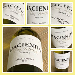 Hacienda Chardonnay Reserve 2018, Central Valley, Chili