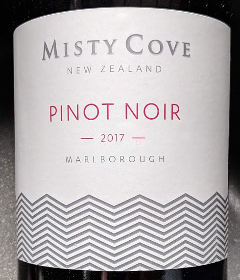 Misty Cove Pinot Noir van Greetz uit Nieuw Zeeland