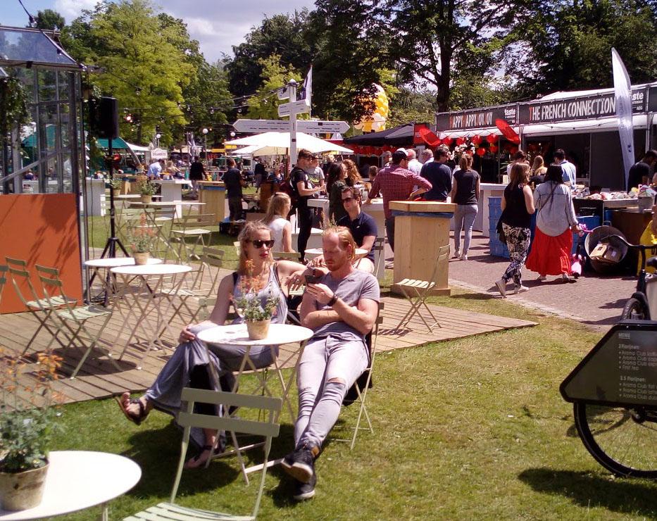 Wijnfestival en bierfestival Utrecht