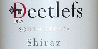 Deetlefs Stonecross Shiraz
