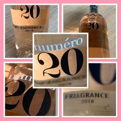 Numéro 20 Fragrance Rosé 2018; een echte alleskunner rosé