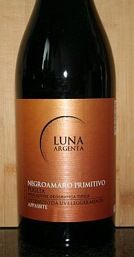 Luna Argenta Negroamaro Primitivo