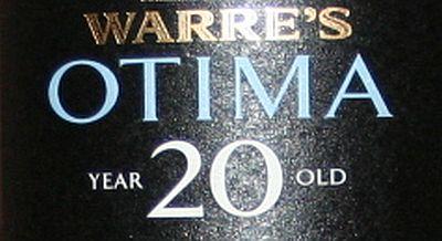 Warre Otima 20 years old tawny