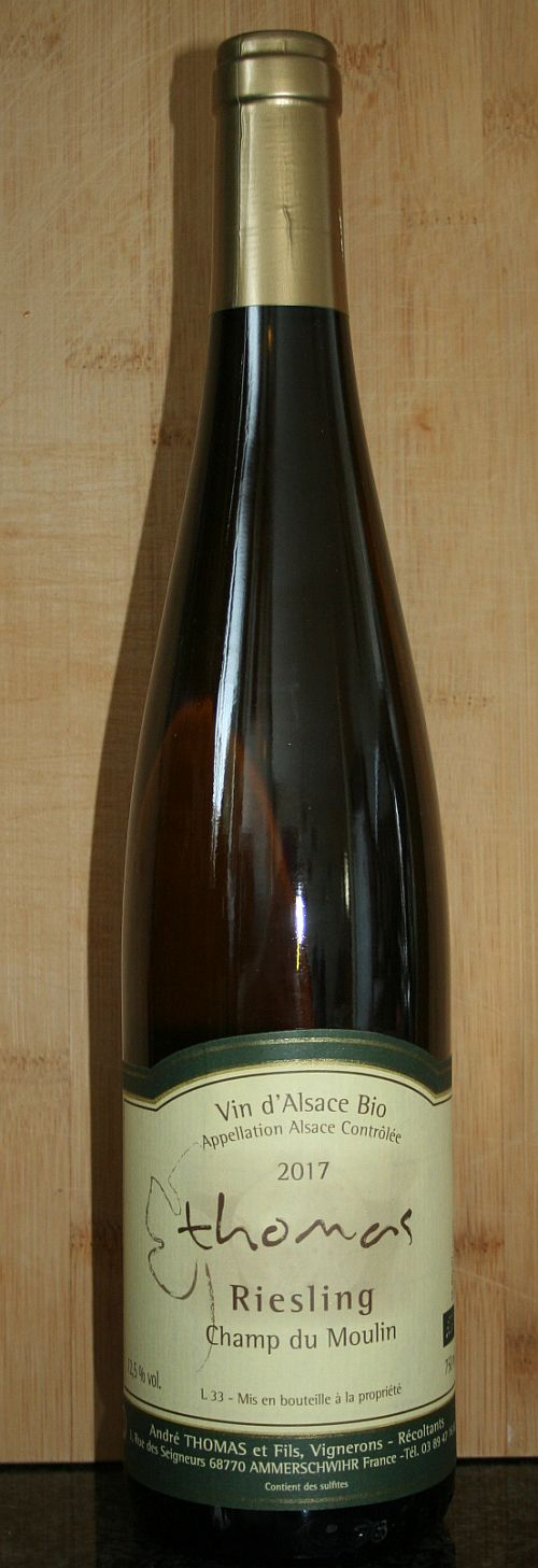Andre Thomas volle Riesling