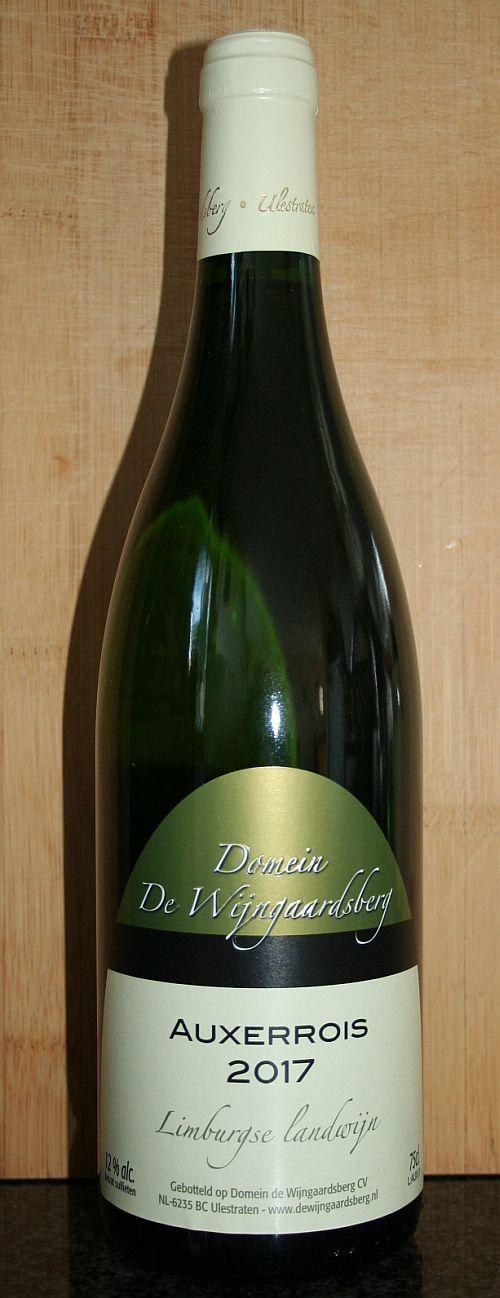 Domein de Wijngaardsberg Auxerrois