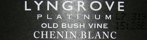 Lyngrove Platinum Old Bush Vine