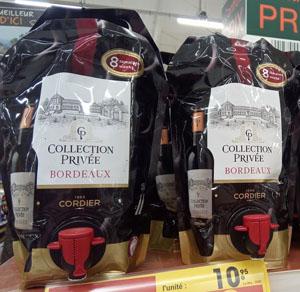 rode bordeaux wijnen die niet kunnen ouderen of rijpen