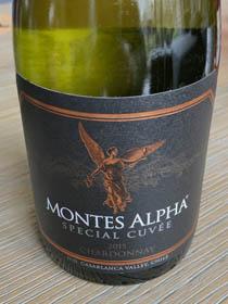 Montes Alpha Special Cuvée Chardonnay 2015; een lichtvoetige kwaliteits-Chardonnay