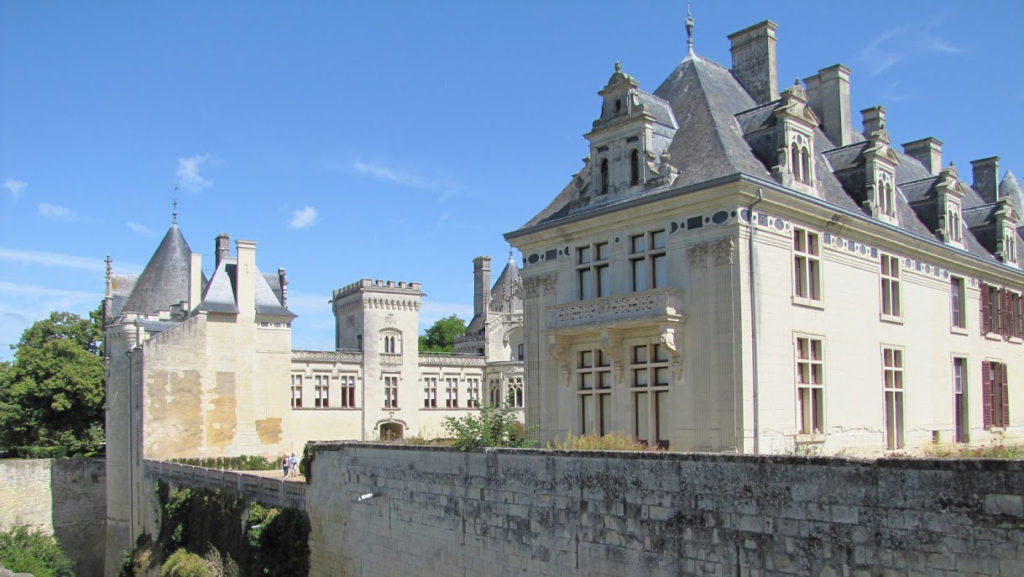 Veel mooie kastelen in het Loire dal en in Saumur-Champigny