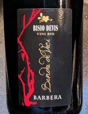 biologische Barbera uit Italië