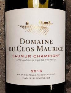 domaine du clos maurice Saumur-Champigny