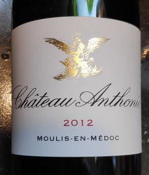 Chateau Anthonic is een van de weinige biologisch wijngaarden van de Bordeaux