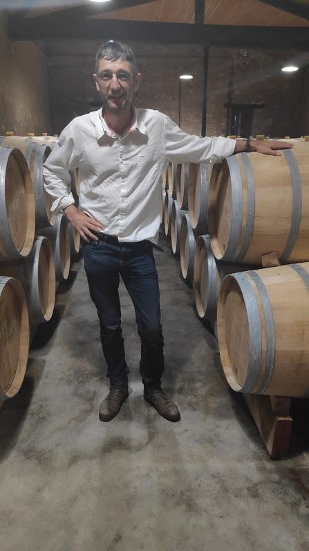 Er is weer leven in de wijngaard, vertelde eigenaar en wijnmaker Jean-Baptiste Cordonnier van Chateau Anthonic