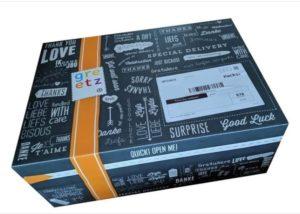 Nieuwe wijnverpakking en geschenkverpakking te recyclen, een geschenkverpakking moet uit één materiaal bestaan. In dit geval een kartonnen doos die er ook nog eens leuk uitziet