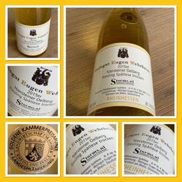 Niersteiner Oelberg Riesling Spätlese Trocken 2015; een geraffineerde GOUDEN wijn van Storms.nl