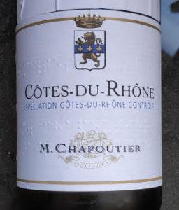 Côtes du Rhône Blanc van Chapoutier, Les Incontournables, witte wijn uit Frankrijk