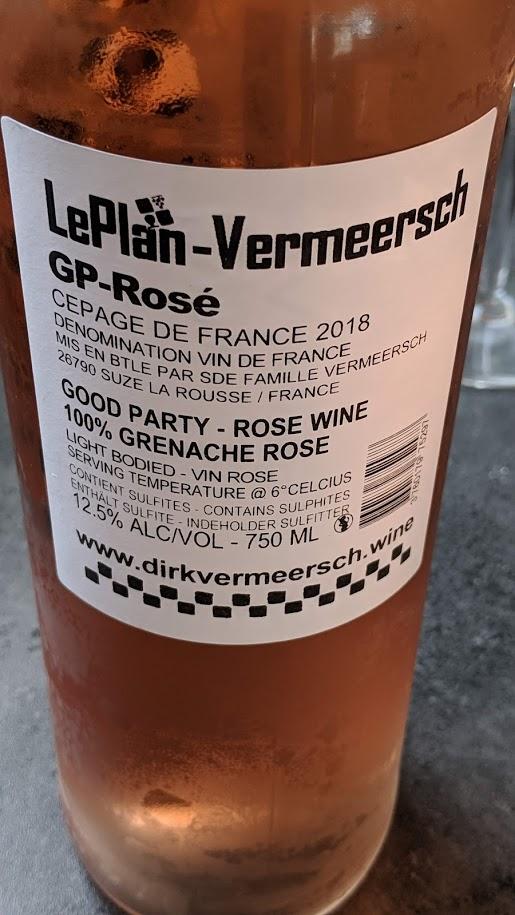 Een voorbeeld van een zeer goede Vin de France