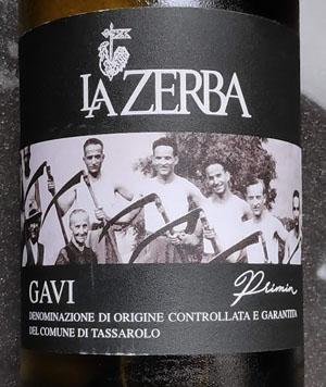 Importeur gezocht: La Zerba Gavi Primin 2017 uit Italië