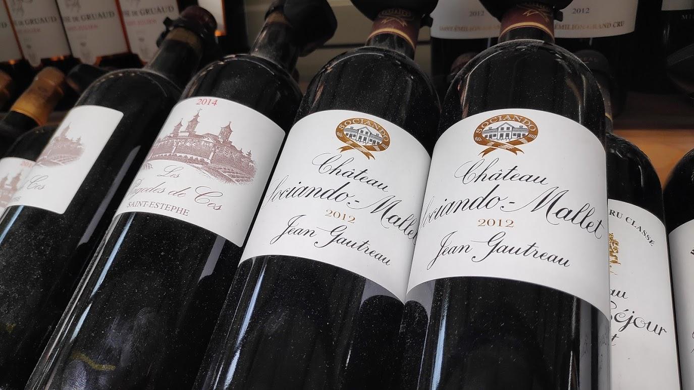 Wijnen uit Bordeaux hebben geen classificatie als Vin de France