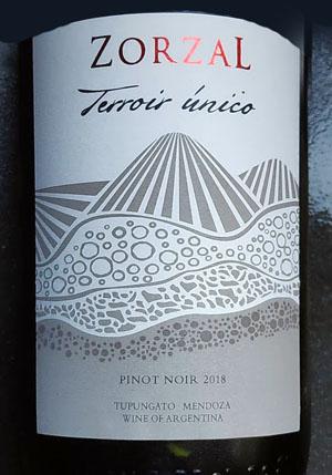Zorzal Pinot Noir, een Argentijnse Grand Cru van grote hoogte
