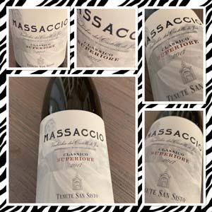 Massaccio 2017; gewoon een mooie Italiaanse wijn van de Wijnbeurs