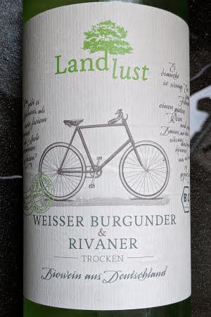 biologische vegan wijn uit Duitsland