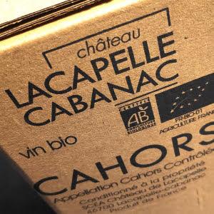 Chateau Lacapelle Cabanac, biologische Malbec uit de Cahors in een BIB